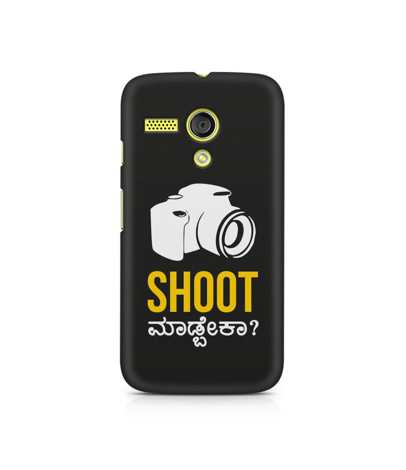 Shoot Madbeka Premium Printed Case For Moto G