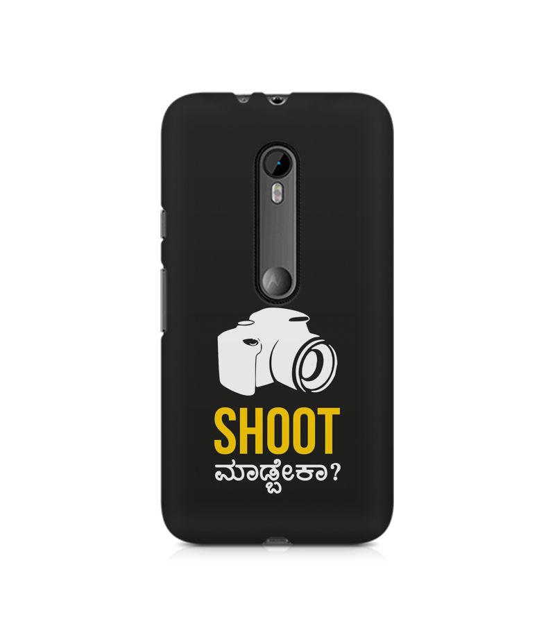Shoot Madbeka Premium Printed Case For Moto G3