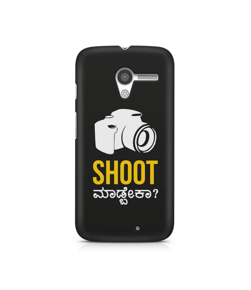 Shoot Madbeka Premium Printed Case For Moto X