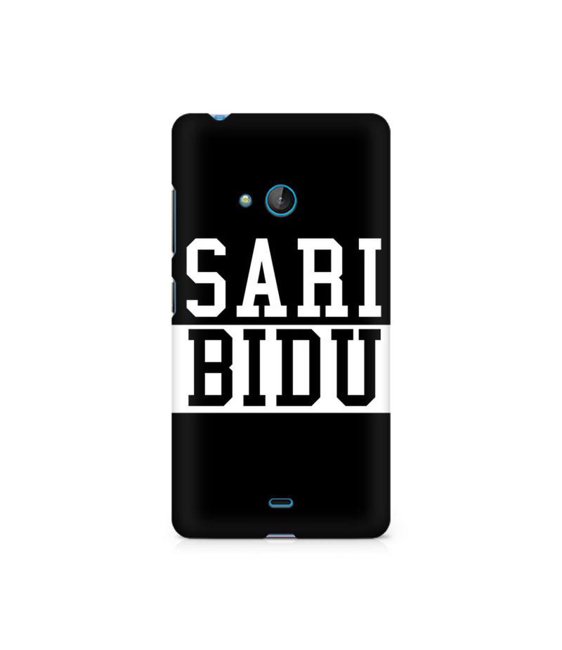 Sari Bidu Premium Printed Case For Nokia Lumia 540