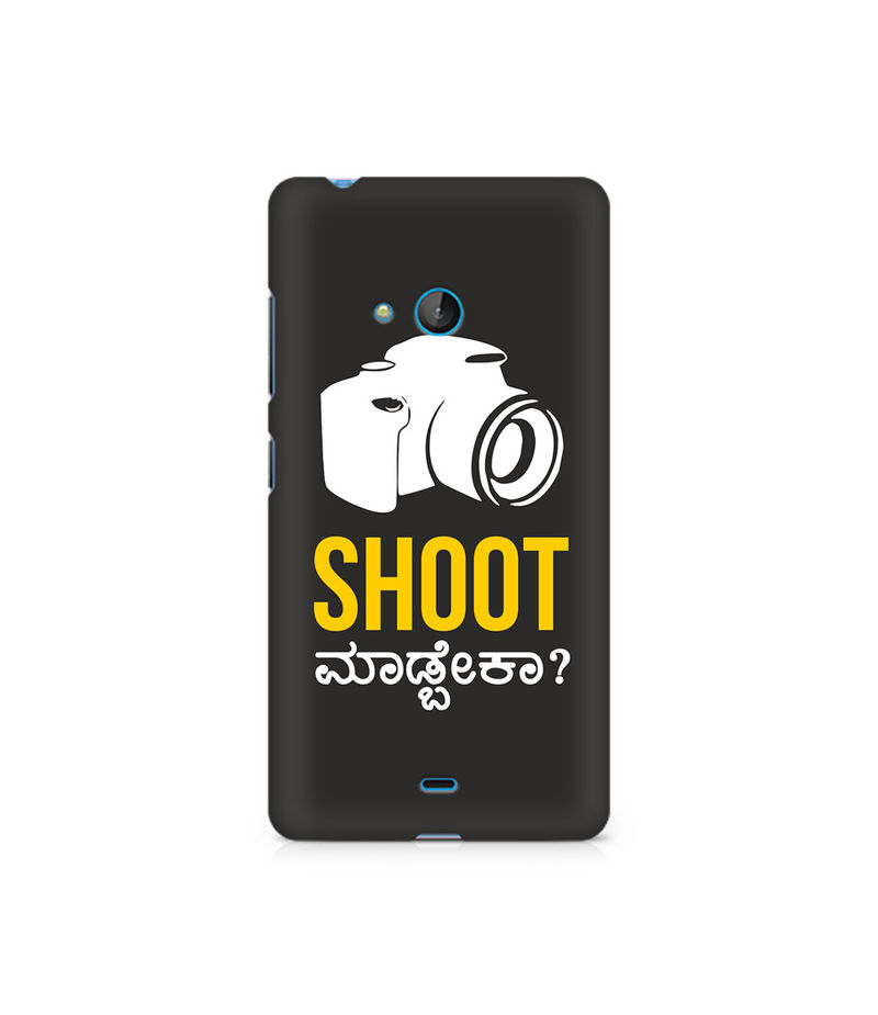 Shoot Madbeka Premium Printed Case For Nokia Lumia 540