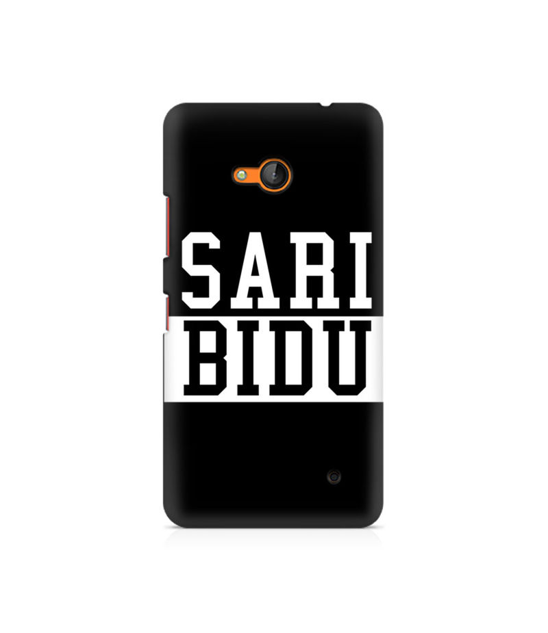 Sari Bidu Premium Printed Case For Nokia Lumia 640