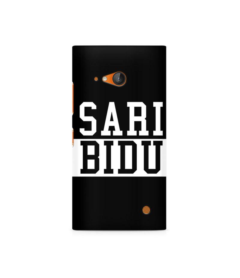 Sari Bidu Premium Printed Case For Nokia Lumia 730