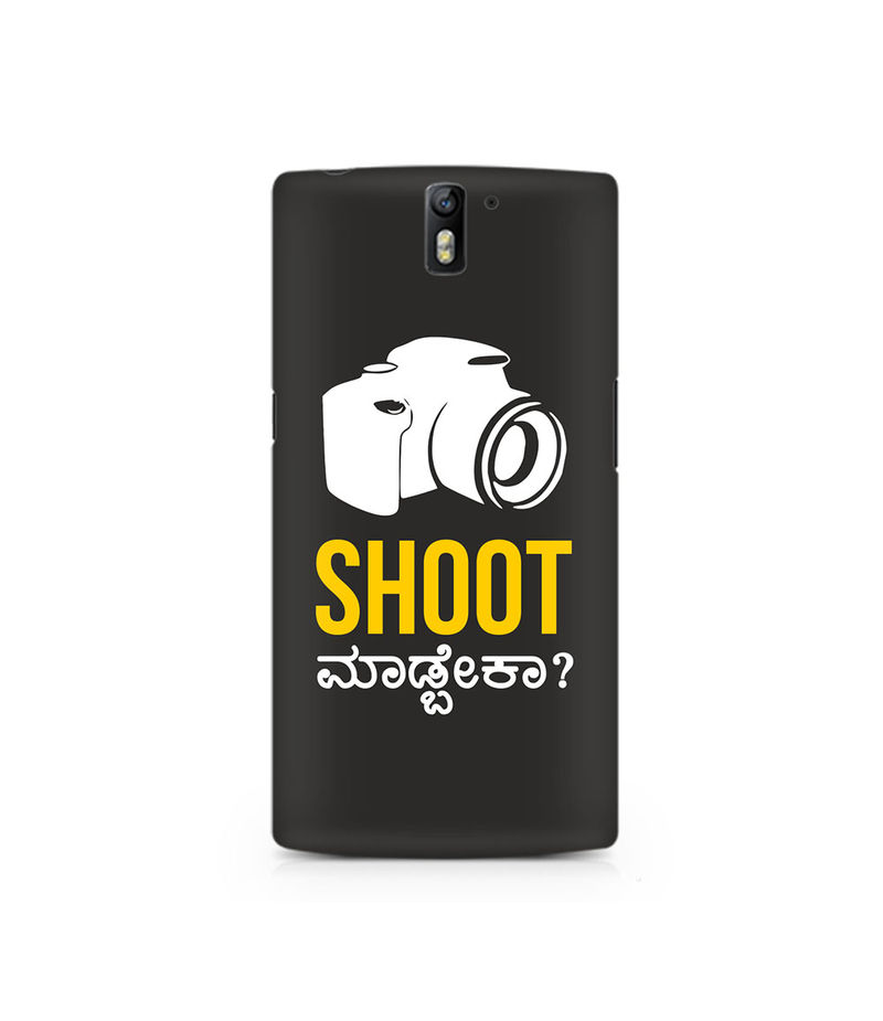 Shoot Madbeka Premium Printed Case For OnePlus One