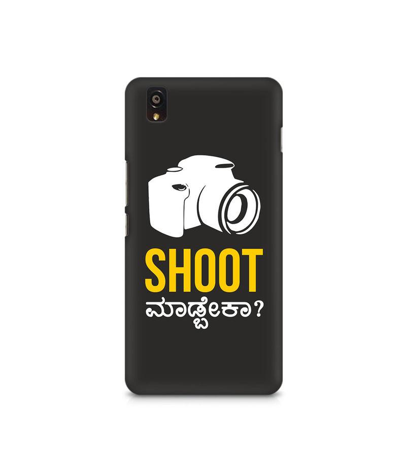 Shoot Madbeka Premium Printed Case For OnePlus X