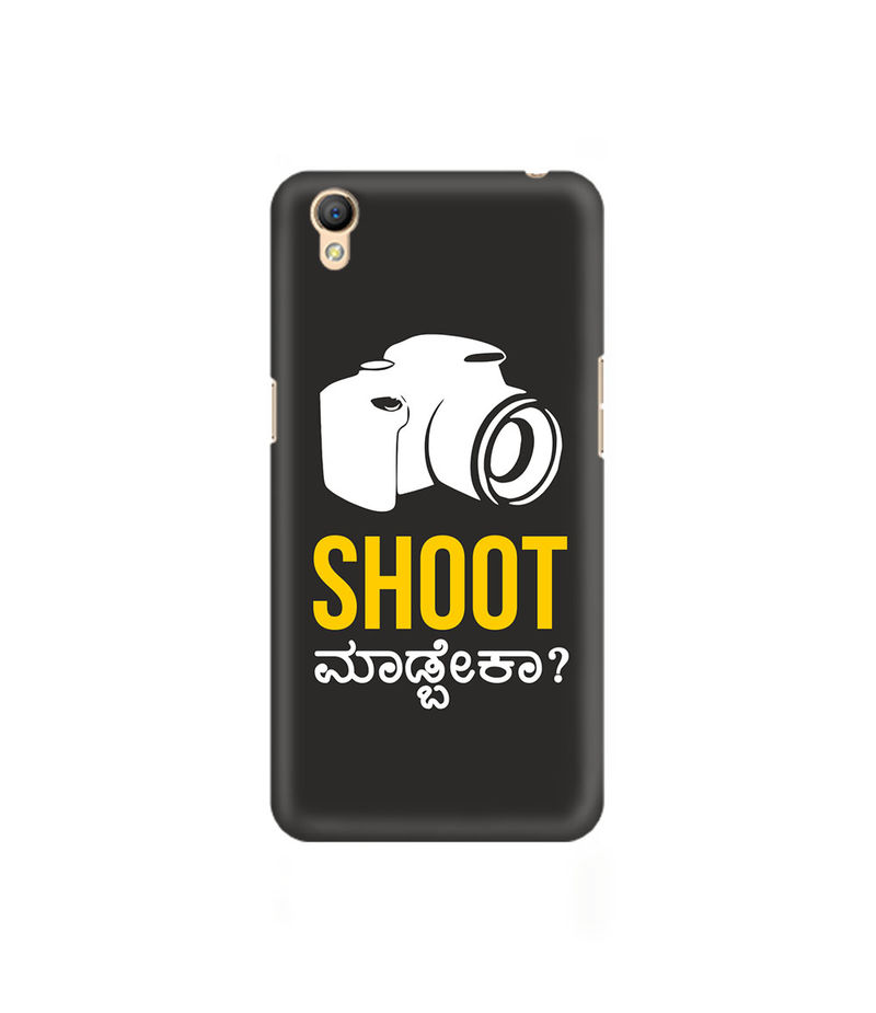 Shoot Madbeka Premium Printed Case For Oppo A37