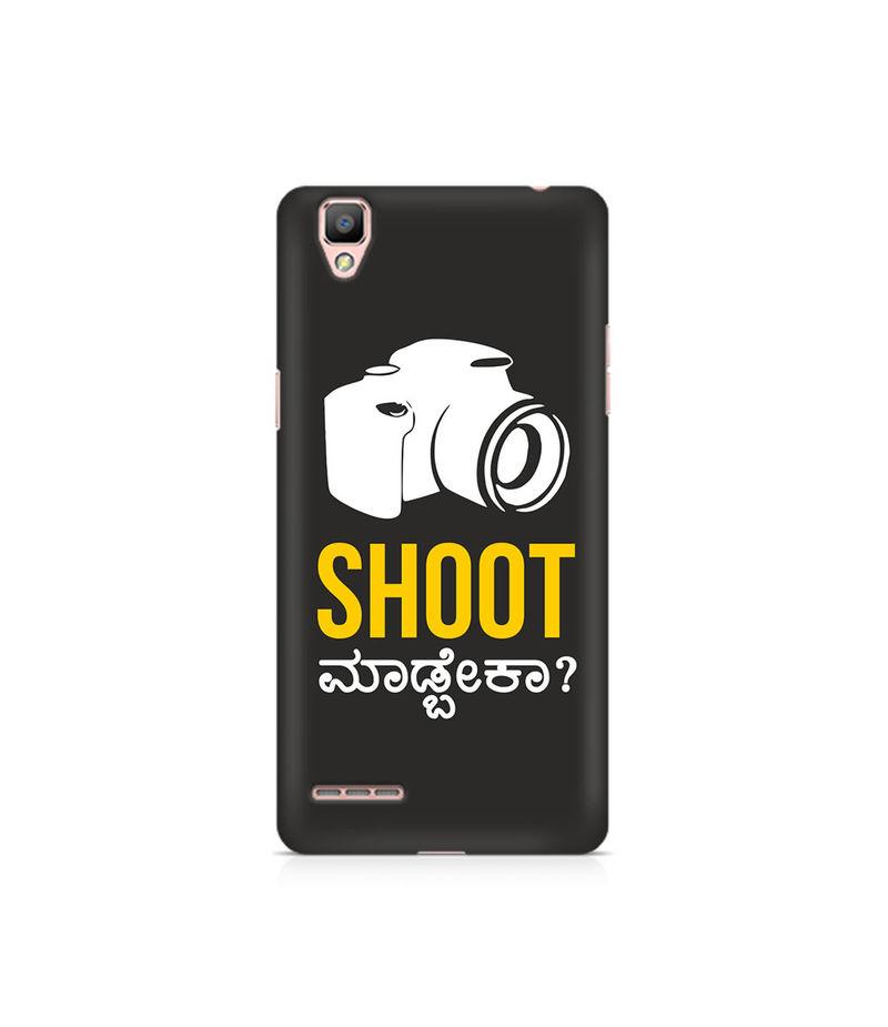 Shoot Madbeka Premium Printed Case For Oppo F1