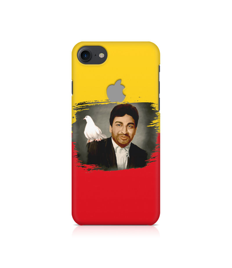 Dr Rajkumar Premium Printed Case For Apple iPhone  7 With Logo Cut