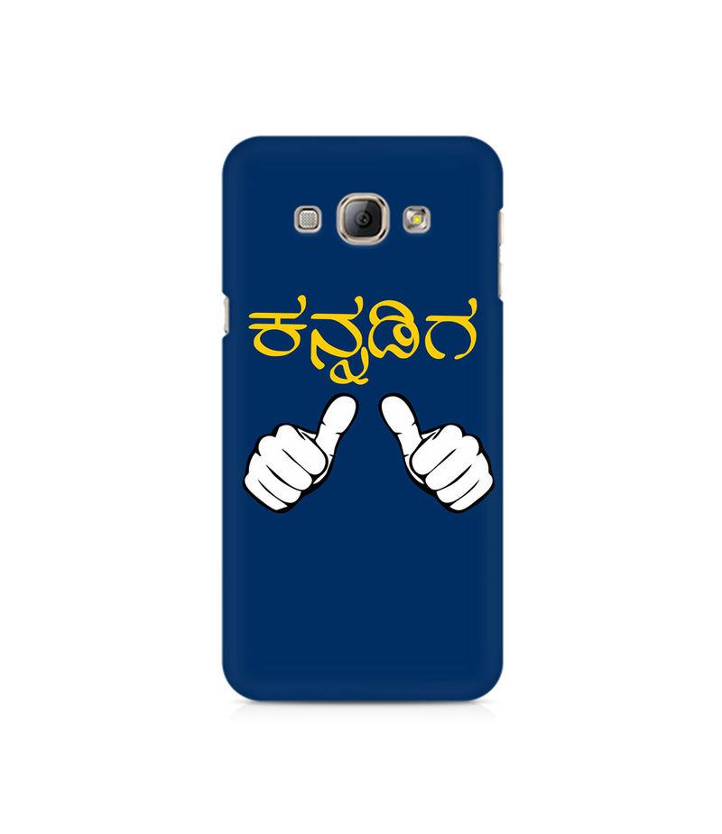 Nanu Kannadiga Premium Printed Case For Samsung A3