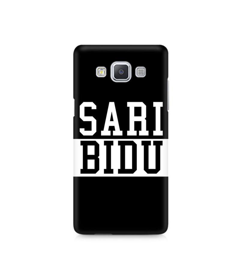 Sari Bidu Premium Printed Case For Samsung A5