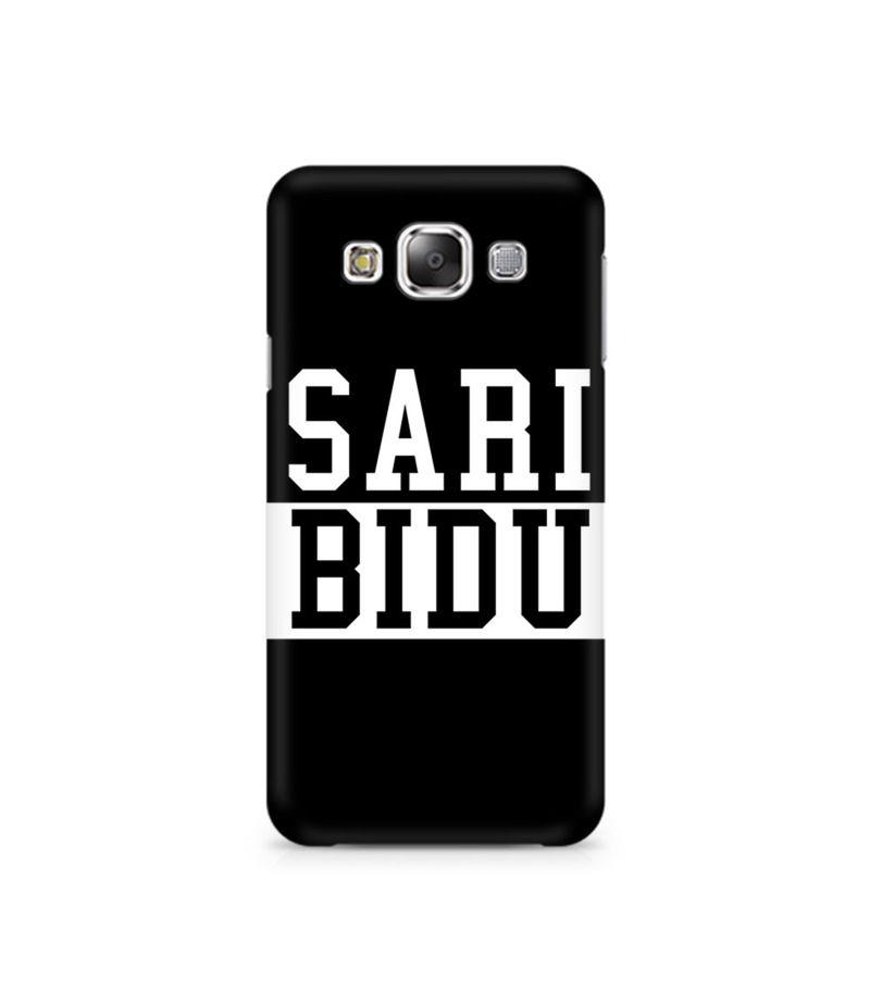 Sari Bidu Premium Printed Case For Samsung E7