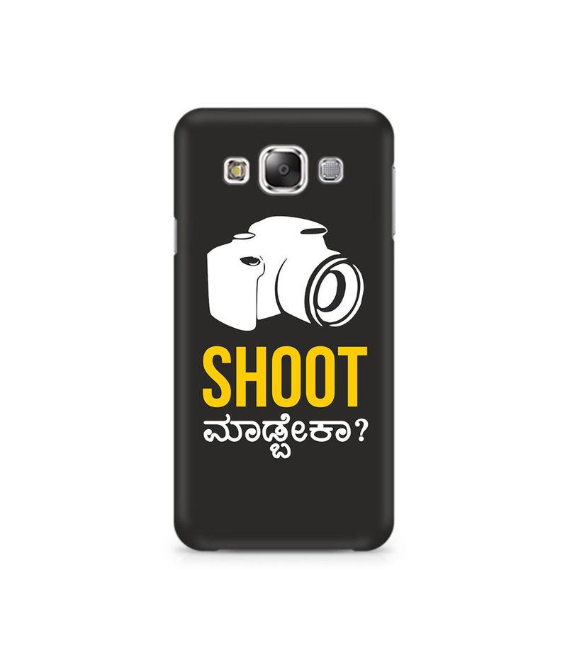 Shoot Madbeka Premium Printed Case For Samsung E7