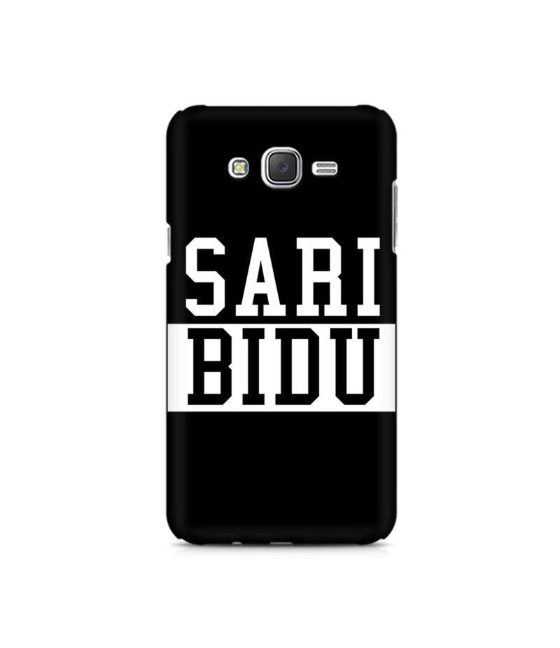 Sari Bidu Premium Printed Case For Samsung J7