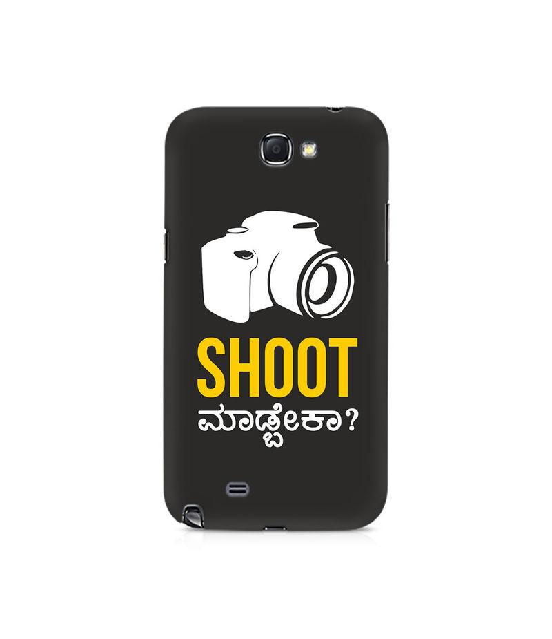 Shoot Madbeka Premium Printed Case For Samsung Note 2