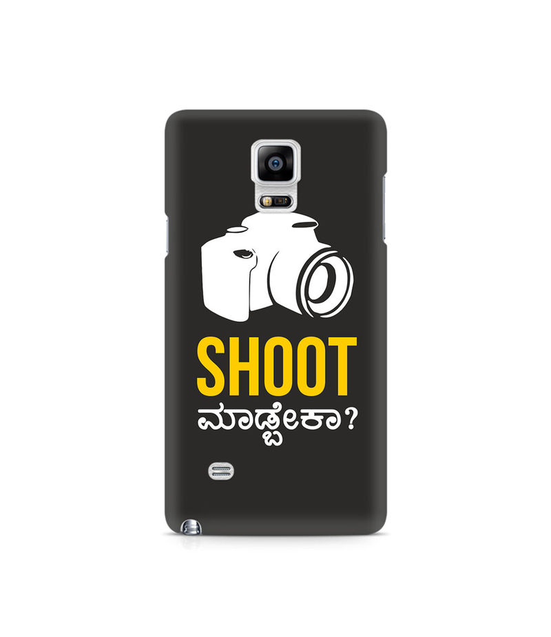 Shoot Madbeka Premium Printed Case For Samsung Note 4