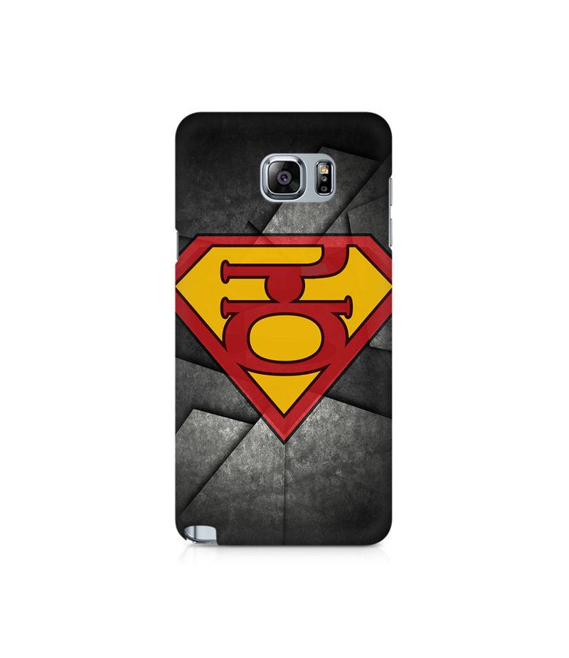 Super Kannadiga Premium Printed Case For Samsung Note 5