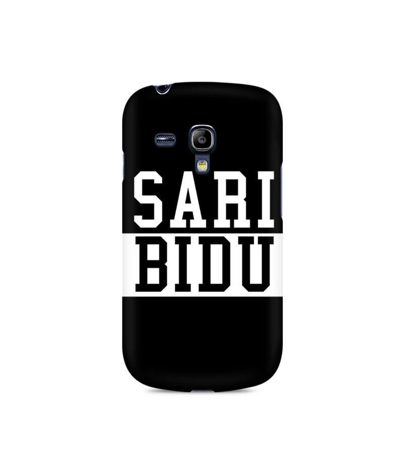 Sari Bidu Premium Printed Case For Samsung S3 Mini