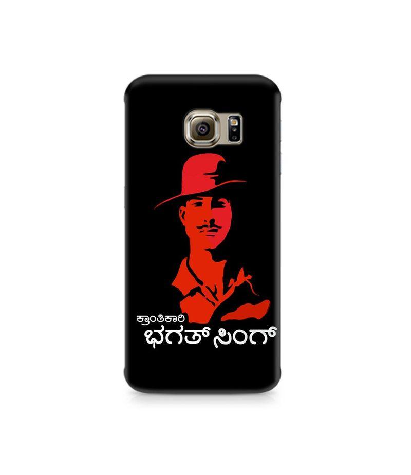 Kranti Kaari Bhagath Singh Premium Printed Case For Samsung S6 Edge Plus
