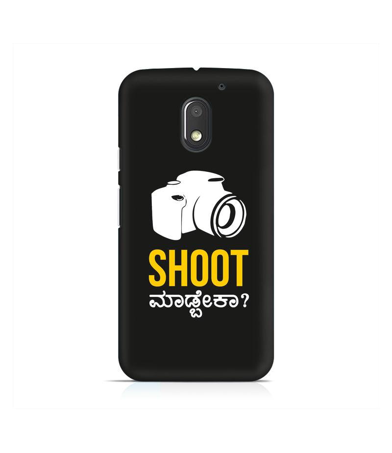Shoot Madbeka Premium Printed Case For Moto E3 Power