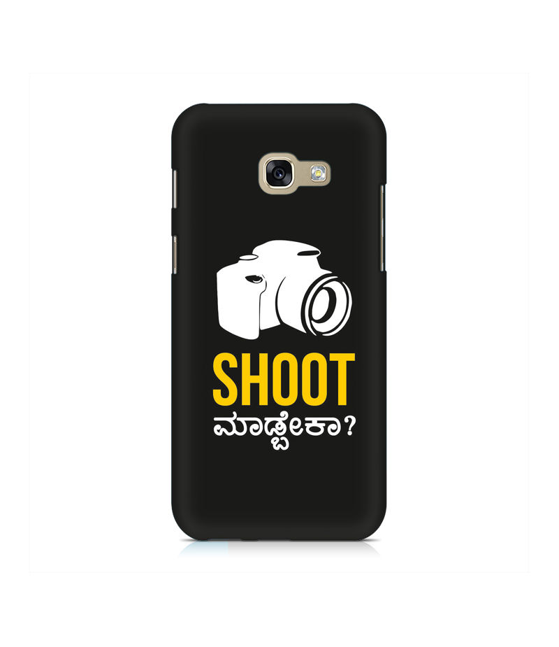 Shoot Madbeka Premium Printed Case For Samsung A5 2017