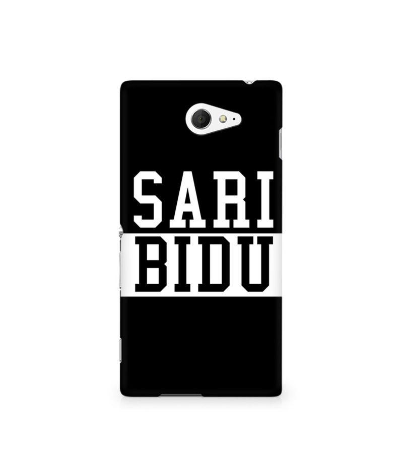 Sari Bidu Premium Printed Case For Sony Xperia M2 S50h