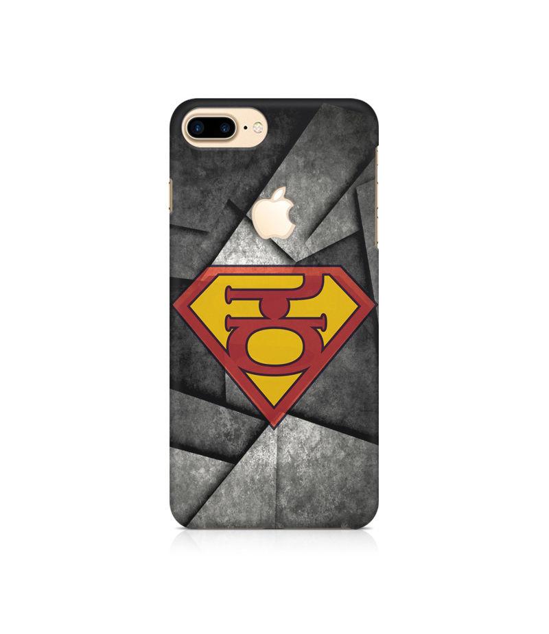 Super Kannadiga Premium Printed Case For Apple iPhone   7 Plus With Logo Cut