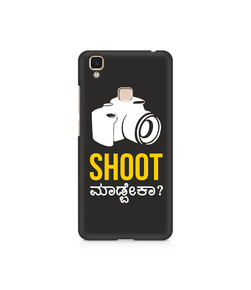 Shoot Madbeka Premium Printed Case For Vivo V3 Max