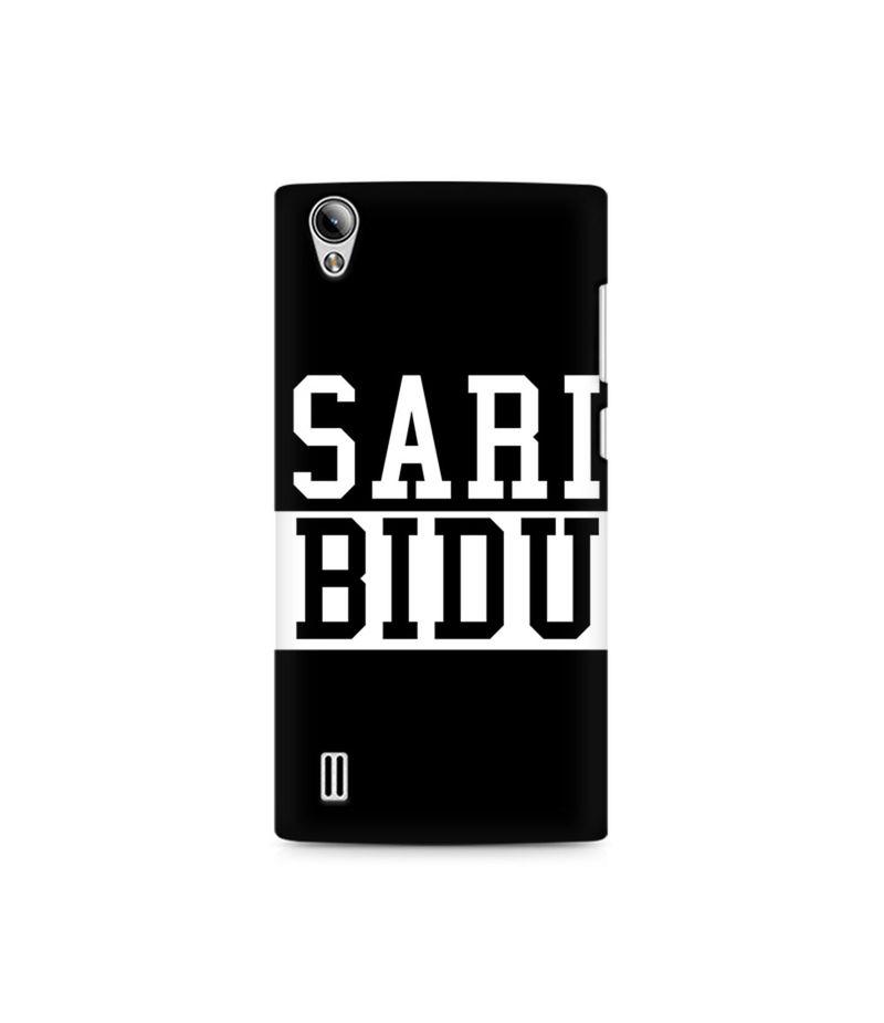 Sari Bidu Premium Printed Case For Vivo Y15