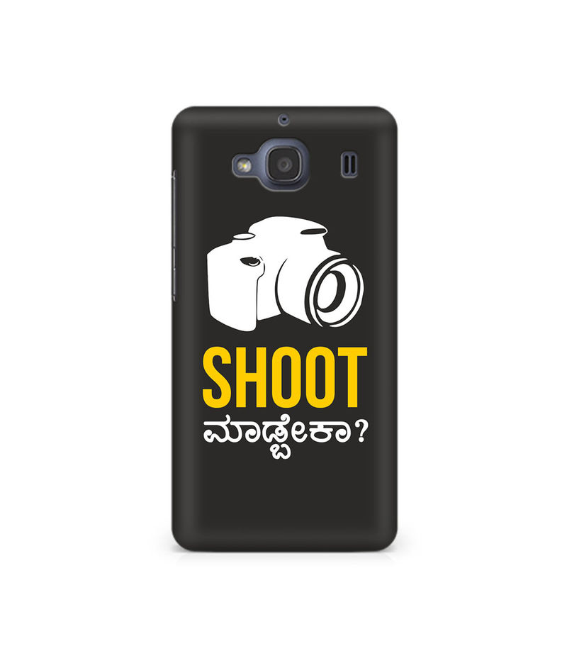 Shoot Madbeka Premium Printed Case For Xiaomi Redmi 2
