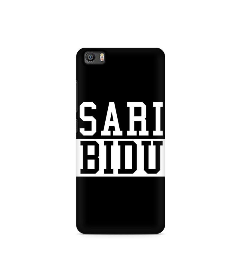 Sari Bidu Premium Printed Case For Xiaomi Redmi Mi5