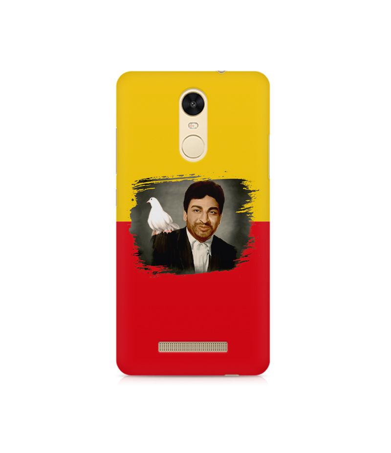 Dr Rajkumar Premium Printed Case For Xiaomi Redmi Note 3