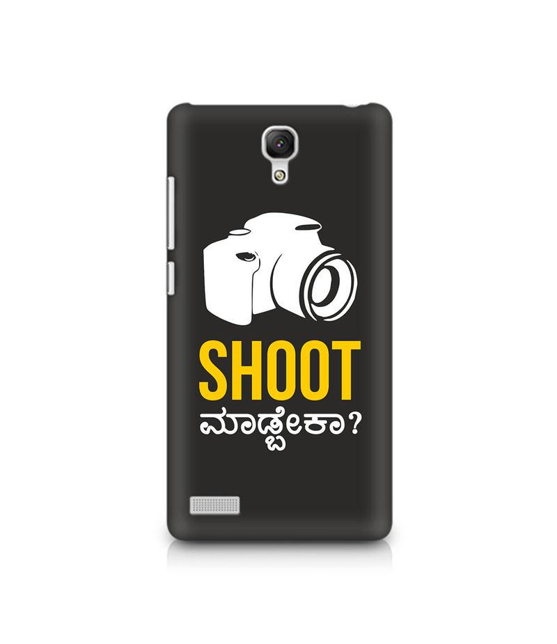 Shoot Madbeka Premium Printed Case For Xiaomi Redmi Note