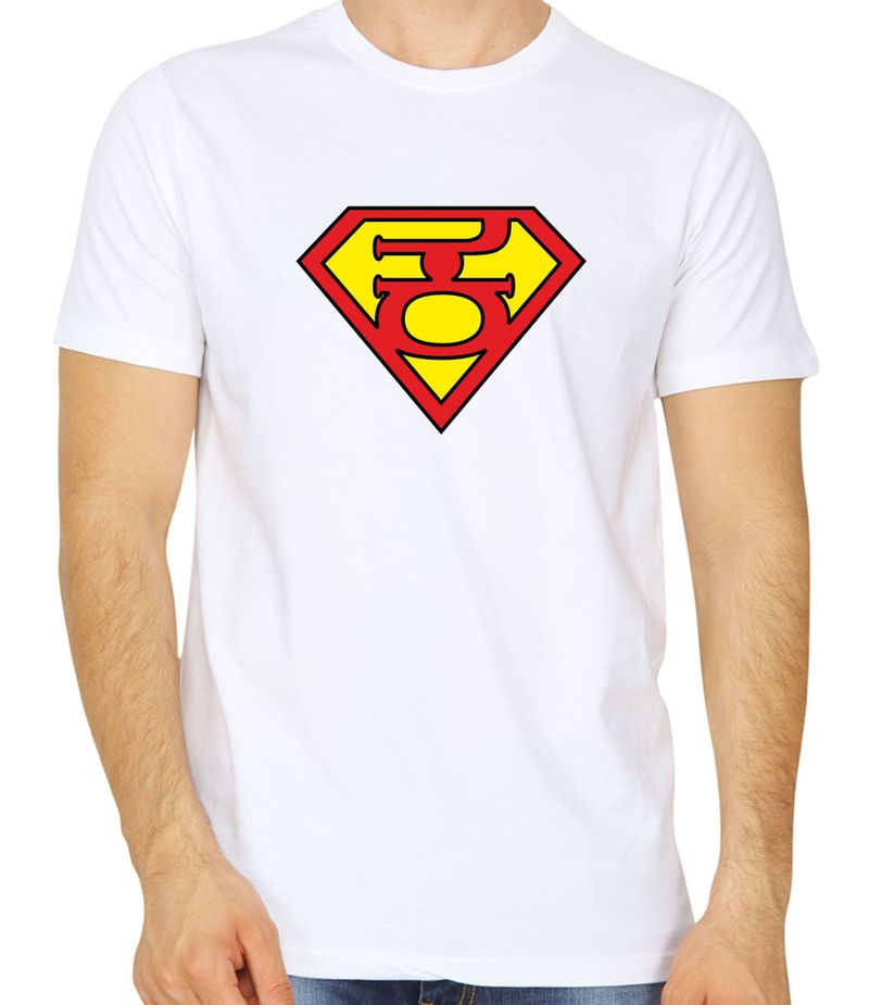 Super Kannadiga White Colour Round Neck Tshirt