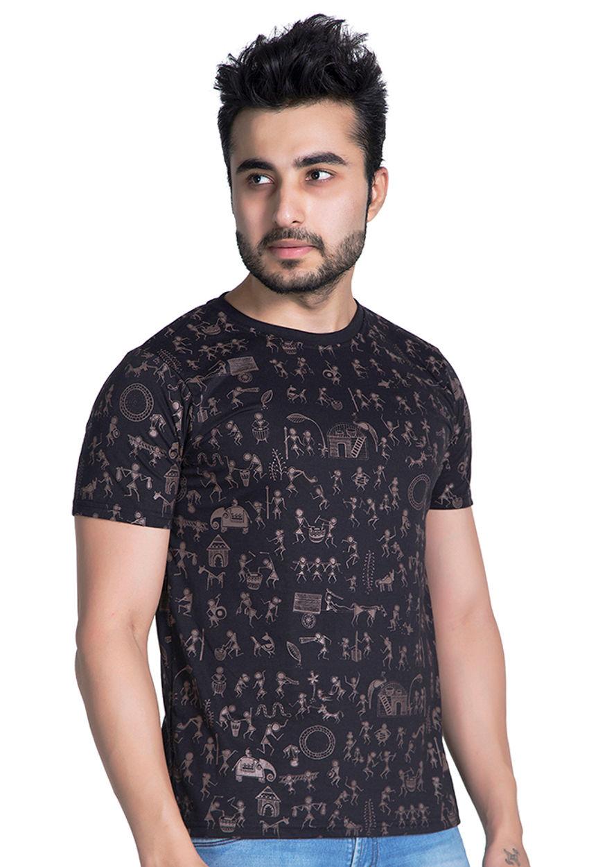 Warli Art T Shirt