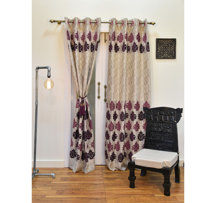 Ariana Logan Damas Wine Door Curtain