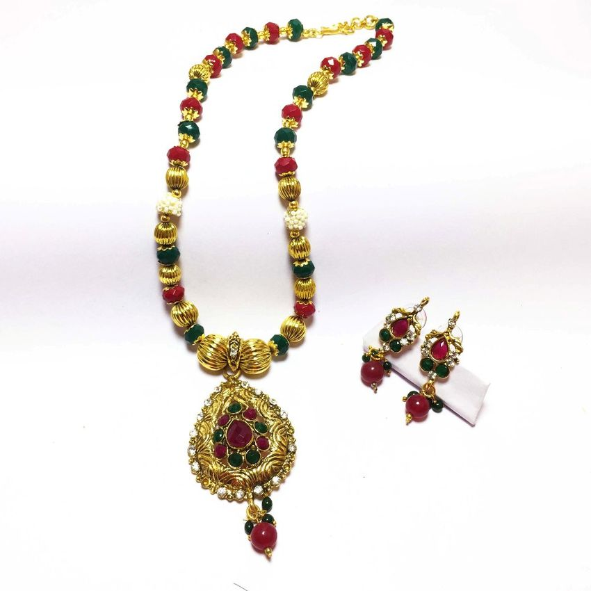 designer beaded from jewels india south necklace beads mala akrutiakrut akruti