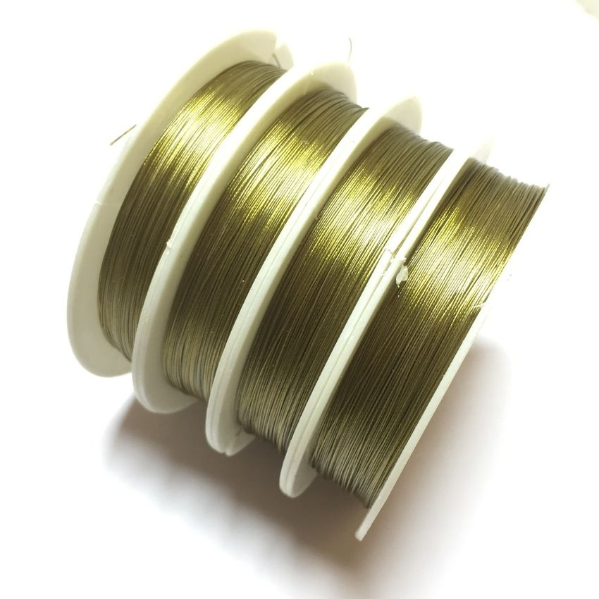 1 roll high quality gare wire for jewellery making 28 gauge 032mm keyboard keysfo Image collections
