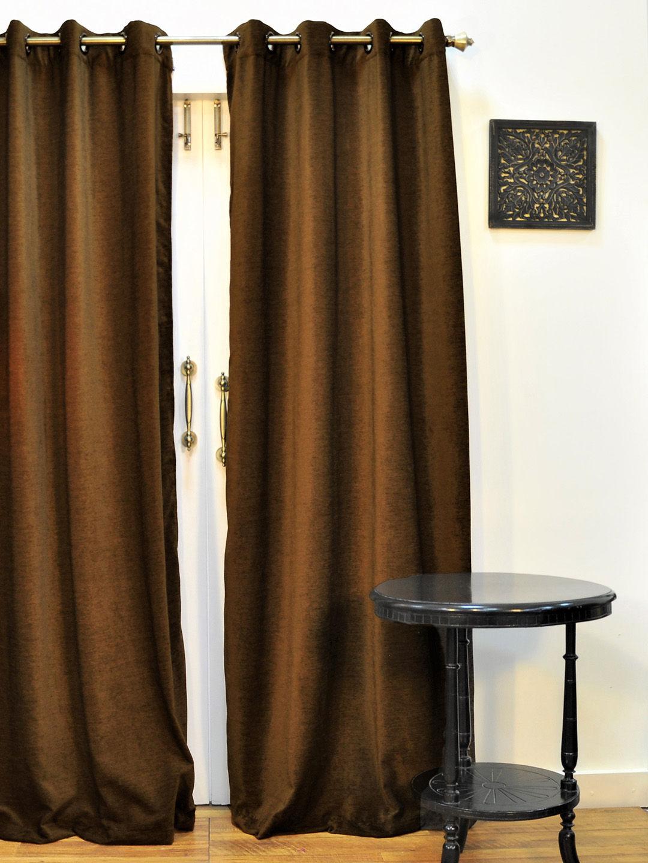 Ariana Monochrome Coffee Door Curtain  sc 1 st  Ariana Deziner Kreations Pvt. Ltd. & Ariana Monochrome Coffee Door Curtain | 8907274022825