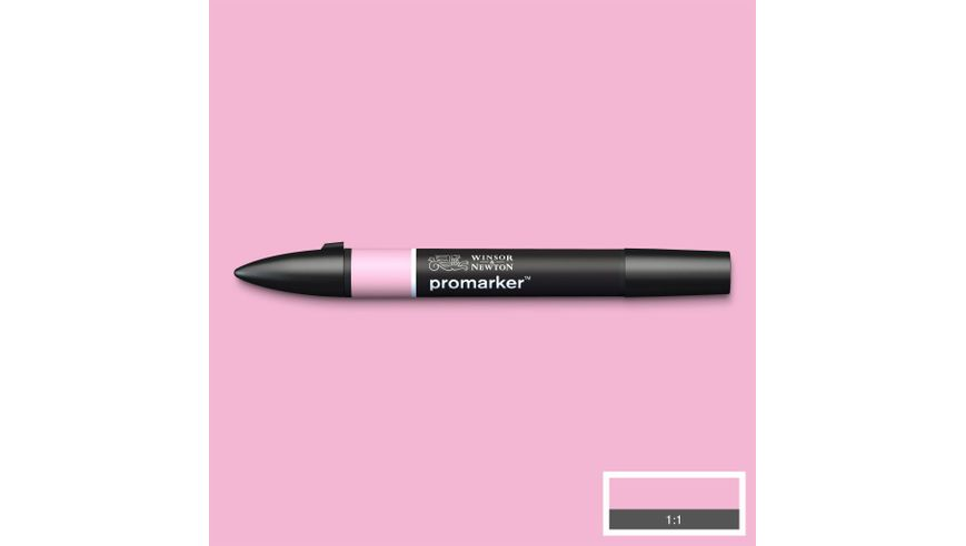 Winsor & Newton ProMarker - Twin Tip; Broad+Chisel - Alcohol Based - Pink Carnation