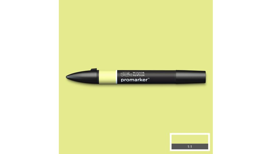 Winsor & Newton ProMarker - Twin Tip; Broad+Chisel - Alcohol Based - Lime Zest