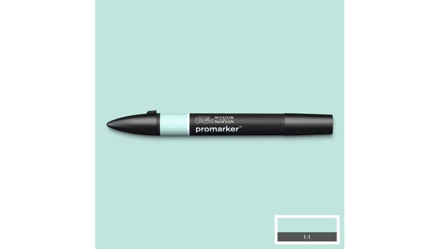 Winsor & Newton ProMarker - Twin Tip; Broad+Chisel - Alcohol Based - Pastel Green