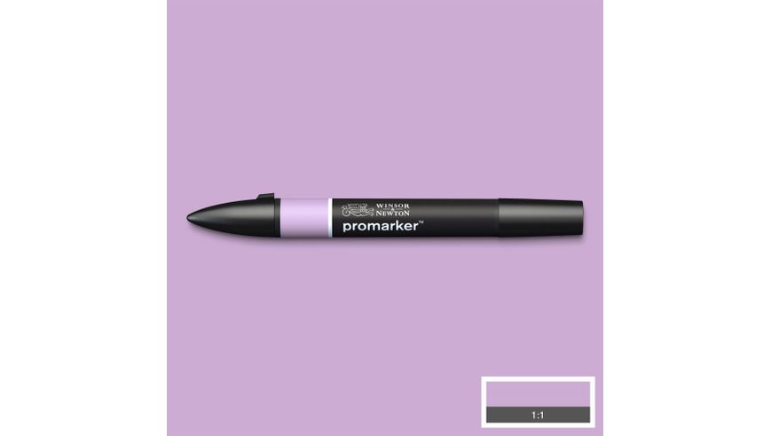 Winsor & Newton ProMarker - Twin Tip; Broad+Chisel - Alcohol Based - Orchid