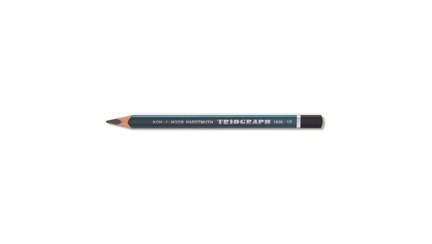 Koh-I-Noor Triograph Professional Graphite Pencil - 6B