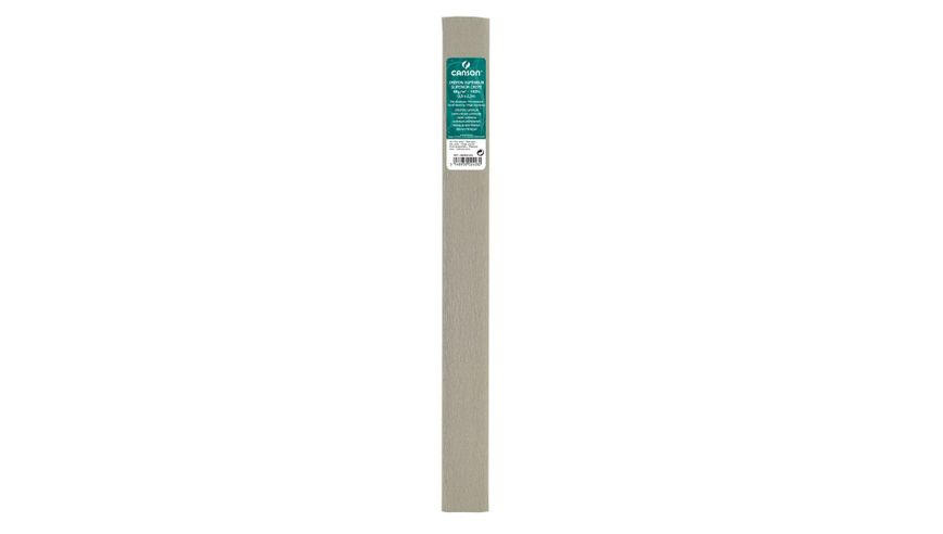 Canson Superior Crepe Paper Roll - 48 GSM, 50 x 250 cm  - Steel Grey