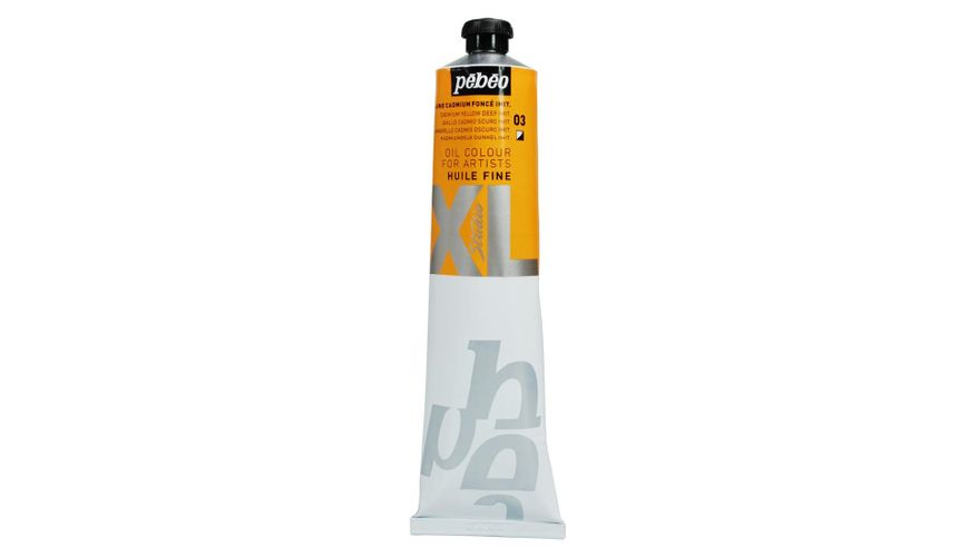 Pebeo XL Fine Oil 200 ML Cadmium Yellow Deep Hue 03