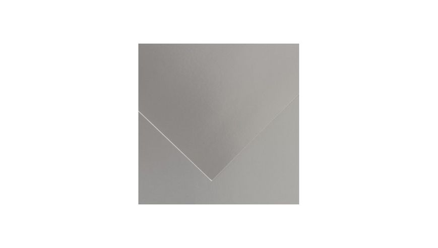 Canson Iris Vivaldi 280 GSM 50 x 65 cm Pack of 25 Smooth Grain Sheets - Silver