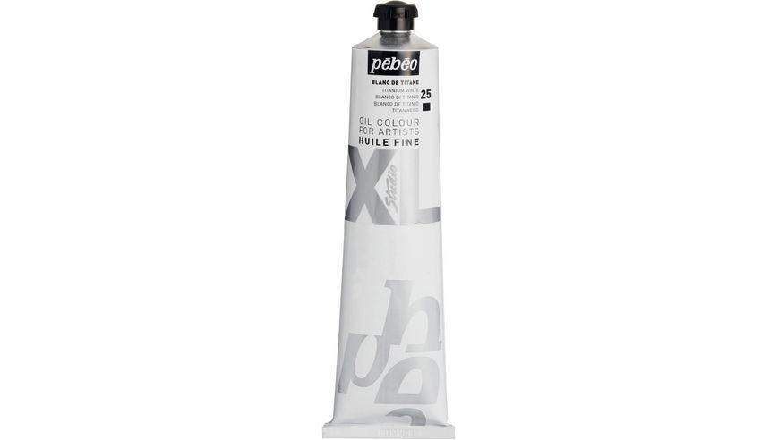 Pebeo XL Fine Oil 200 ML Titanium White 25