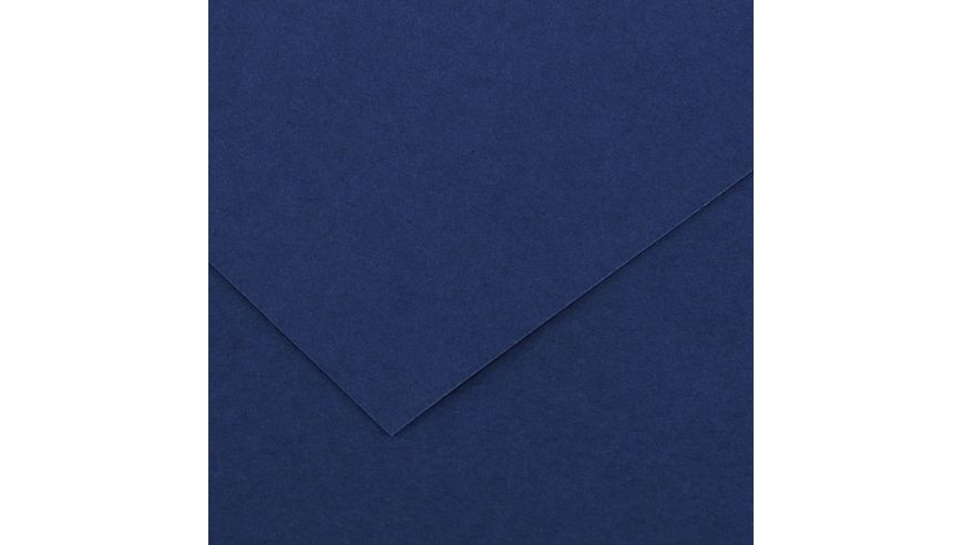 Canson Colorline 150 GSM 50 x 65 cm Pack of 25 Smooth & Light Grain Sheets - Ultramarine