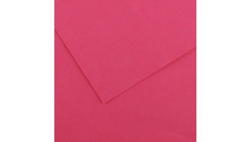 Canson Colorline 300 GSM A4 Pack of 5 Smooth & Light Grain Sheets - Fuchsia