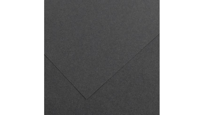 Canson Colorline 300 GSM A4 Pack of 5 Smooth & Light Grain Sheets - Graphite